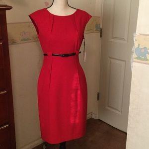 Gorgeous Red CK Dress
