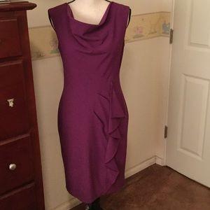 Lovely Magenta CK Dress