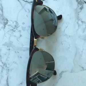 Ray ban Club master mirrored sunglasses