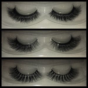 3 PAIRS OF KC LASHES