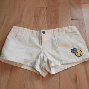 Victoria's Secret corduroy white size 4 shorts