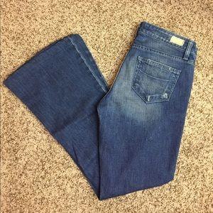 "Paige ""Manning"" Wide Leg Jeans"