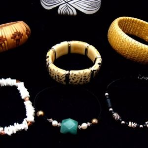 Jewelry - Vintage bracelet collection-1990s jewelry lot 90s