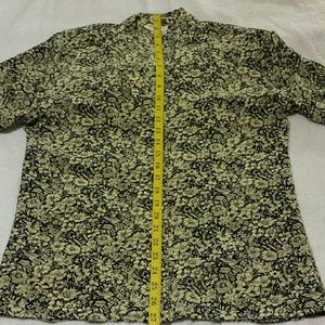 NWOT Talbots Women's 100% Silk Dress Shirt Size 10