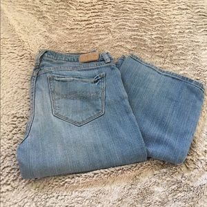 Abercrombie and Fitch bootcut jean