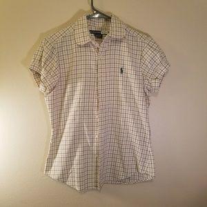 Ralph Lauren short sleeve flannel