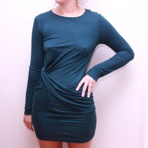 Zara mini wrap dress