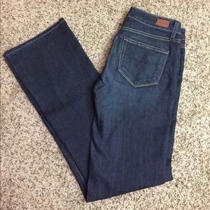 """Paige """"Skyline Boot"""" Dark Wash Jeans"""