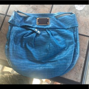 Bright blue Marc by Marc Jacobs hobo