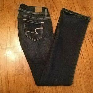 American Eagle Dark Wash Stretch Jeans