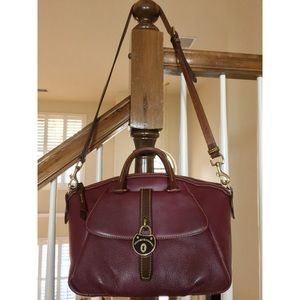 *SALE* Dooney & Bourne Burgundy Leather Satchel