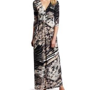 BCBG maxi wrap dress
