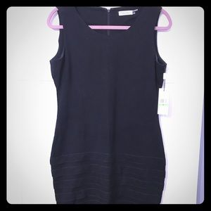 NWT Black Calvin Klein Jersey Dress