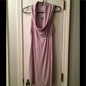 Lightweight Cowl Neck Dress