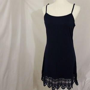 Dresses & Skirts - Navy Slip Dress
