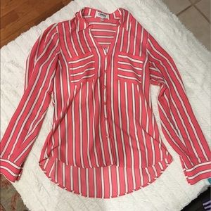 Express Portofino button up blouse
