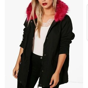 Jackets & Blazers - Plus Size Parka Jacket