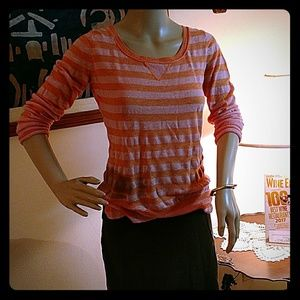 Banana Republic Pink And Orange Sweater
