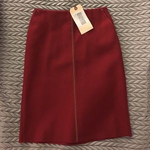 Jcrew pencil midi skirt