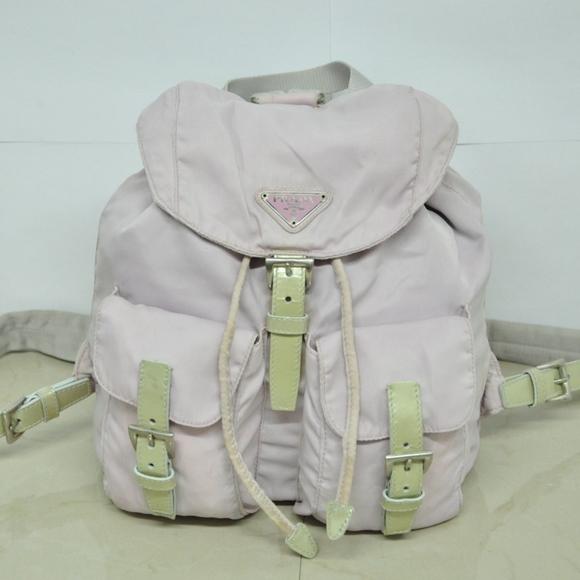 3a09bf3d9e43 Authentic PRADA Nylon Backpack Pale Pink Nylon. M_59c5bc81522b4599cc04e06c
