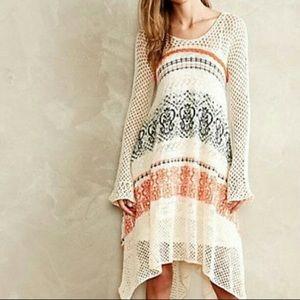Risen Sun ☀️ Sleeping on Snow ❄️ crochet dress