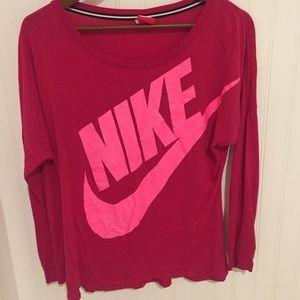 Nike 4pc Vintage Logo LS Tee & Tank Tops M