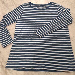 Organic cotton striped T