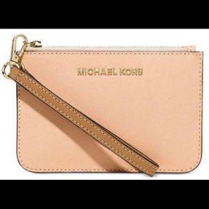 Michael Kors Saffiano Wristlet Wallet