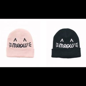 d6949d55b5f david   young Accessories - Meow cat 3D Beanie   Hat David Young NEWAuth  BLUSH