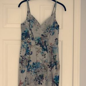 Vintage Asos Watercolor Flower Dress