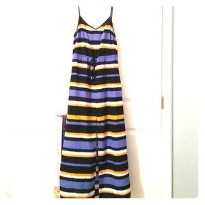 MICHAEL Michael Kors maxi striped dress