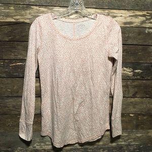 Ann Taylor LOFT Long Sleeve Shirt Top