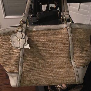 Off white Coach purse