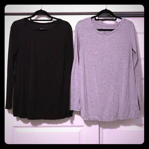 Two Gap Maternity Pure Body Long Sleeved Tees