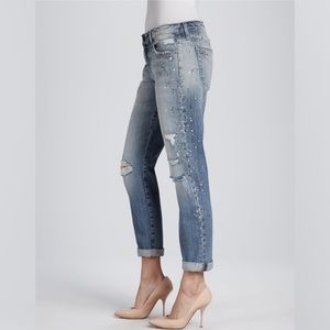 Joe's Jeans Kerilee Jeweled Distressed Jeans