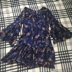 Free people Tunic Floral dress size M