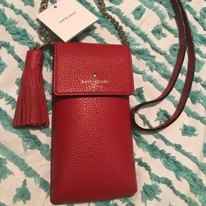 Kate Spade cross body iPhone cases