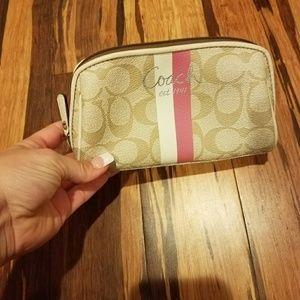 Coach mini Cosmetic bag