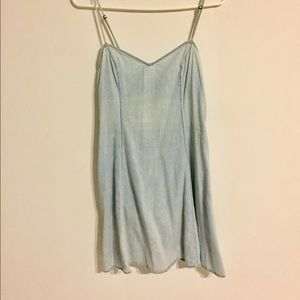 Urbanoutfitters simple denim dress