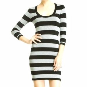 French Connection Striped Sweater Dress Size 6