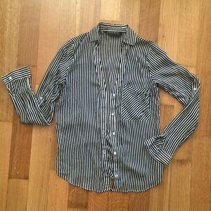 [Zara] Striped Button-Down