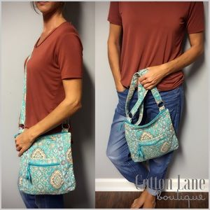 Beta Bradley Totally Turq Crossbody Bag