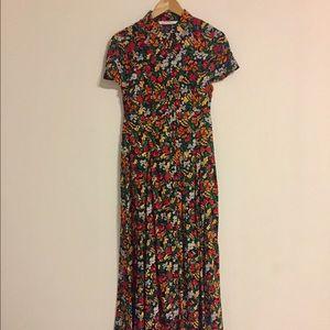 NWOT Zara maxi floral dress
