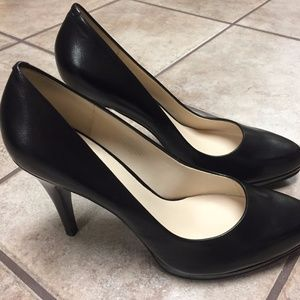 "NEW Nine West ""Rocha"" 4.75"" Leather High heels"