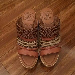 Lucky Brand Platform Heels