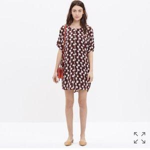 Madewell maroon dress 🍁🍁🍁