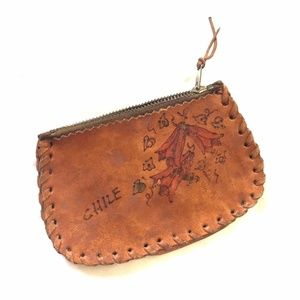 Handbags - Leather Handmade Coin Purse from Chile