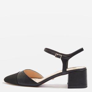 Brand new TOPSHOP Jolene toe cap block heels