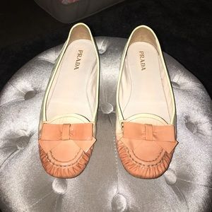 PRADA Patent Leather Loafers SZ 7