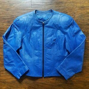 Vintage Jackets & Coats - Vintage CHIA Leather Jacket